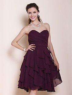 YRKIA - Vestido de Dama de honor de Gasa – CLP $ 41.838