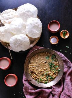 Niramish Cholar Dal Recipe - Bengali Chana Daal Recipe served with Luchis Vegan Lentil Recipes, Vegetarian Recipes Easy, Gluten Free Recipes, Dal Recipe, Recipe Using Lentils, Bengali Food, Vegetarian Cookbook, Daal, Breakfast Dishes