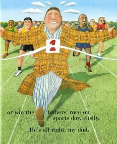 (UK) My Dad by Anthony Browne
