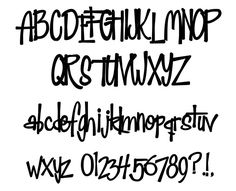 Sewn 4 You Designs~Fonts and Alphabets