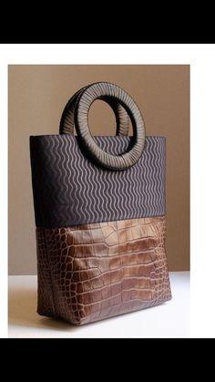 Fashion Handbags, Purses And Handbags, Fashion Bags, Leather Handbags, Mk Handbags, Leather Bags, Beautiful Handbags, Beautiful Bags, Sacs Design