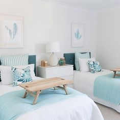 33 awesome teen girl bedroom ideas that are fun and cool 22 JANDAJOSS.ME 33 awesome teen girl bedroom ideas that are fun and cool 22 JANDAJOSS.ME Related posts:Updating Our Big Girls' Bedroom with Wallpaper. Beach House Bedroom, Blue Bedroom, Beach House Decor, Bedroom Decor, Home Decor, Bedroom Modern, Double Bedroom, Double Beds, Teen Girl Bedrooms