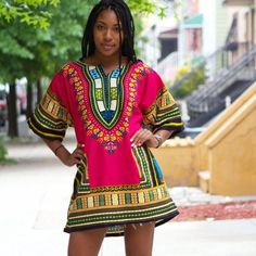 2017 African Dresses For Women Dashiki Men African Clothes Hippie Shirt Caftan Vintage Unisex Tribal Mexican Top Bazin Riche
