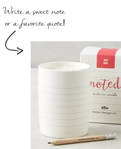 noted-candle @anthropologie