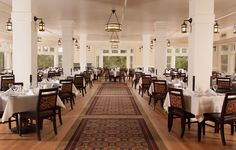 Grant Village  Honeymoon Ideas Yellowstone  Pinterest Impressive Mammoth Hot Springs Hotel Dining Room Decorating Design