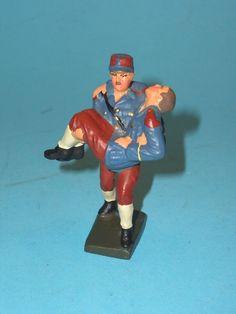 2364 – Lineol Franz. Soldat Verwundeten tragend 7,5cm Serie Sehr Gut | eBay