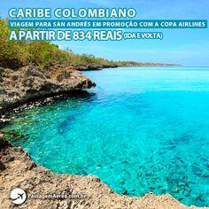 Conheça as praias paradisíacas de San Andrés na Colômbia.  Datas e preços no site: https://www.passagemaerea.com.br/promocao-san-andres-colombia.html  #sanandres #colombia #passagemaerea #viagem #ferias #turismo