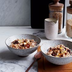 Creamy Steel-Cut Oats with Dried Cherries and Almonds | Food & Wine