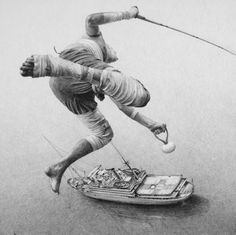 Amazing graphite drawings by Ethan Murrow