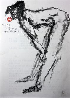 https://www.facebook.com/sahong.gum Gum-Sahong Drawing.Nude 금사홍,누드,드로잉,펜