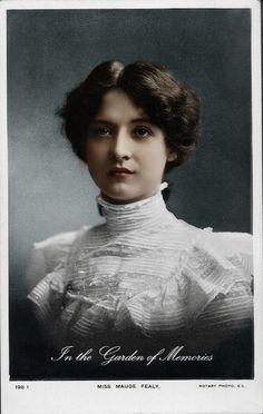 El Velo de la Reina Mab: Mujeres de otra época: Miss Maude Fealy