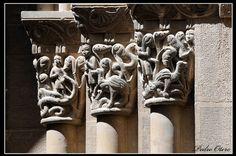 Capiteles Románicos de Huesca