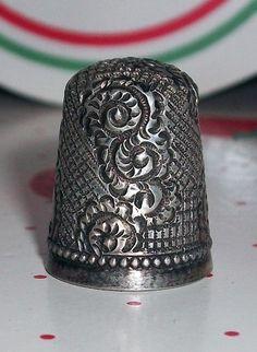 RP:  Antique Thimble -    eBay.com