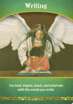 Writing Oracle Card Extended Description - Life Purpose Oracle Cards by Doreen Virtue