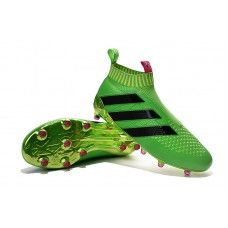 competitive price eb843 1f158 Boys  adidas ACE16+ Purecontrol Solar Green Shock Pink Core Black cheap  football shoes