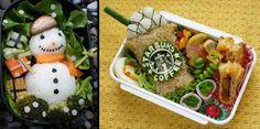 AMAZING-ARTS: 17 Awesome Creations of Bento Food Art