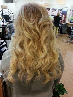 Corrective color...heavy balayage on dark blonde hair