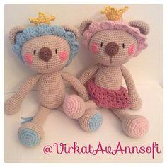 De kungliga Lejonen #amigurumi #crochet #virkstagram #virkat #virkad #haken #hekle #handarbete