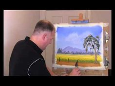 Wet On Wet Painting Technique - Canola Fields - Part 3