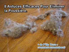 astuces pour éliminer la poussière