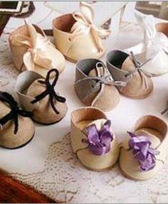 Делаем миниатюрные ботиночки для кукол - Ярмарка Мастеров - ручная работа, handmade