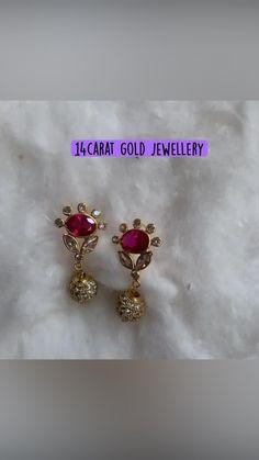 Gold Jhumka Earrings, Gold Bridal Earrings, Gold Wedding Jewelry, Gold Jewelry Simple, Jewelry Design Earrings, Gold Earrings Designs, Antique Jewellery Designs, Gold Ring Designs, Gold Bangles Design