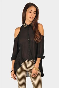 Brick Studded Blouse from Necessary Clothing @ 20% off
