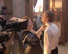 DICAPRIO ON FILM - titanic bts #1