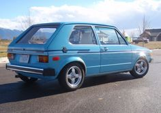 Aww my momma and I used to cruise around in her little Volkswagen Rabbit when I was growing up...