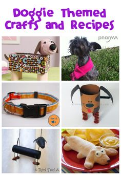 Dog Crafts and Recipes - Fun Family Crafts. I did the t-shirt rope toy. Animal Crafts For Kids, Dog Crafts, Family Crafts, Animal Projects, Adult Crafts, Fun Crafts For Kids, Cute Crafts, Crafts To Make, Activities For Kids