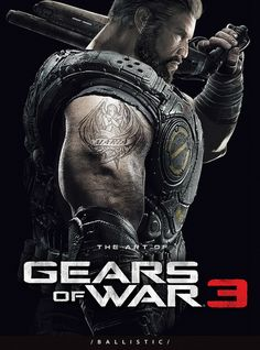The Art of Gears of War 3 by Parka81, via Flickr