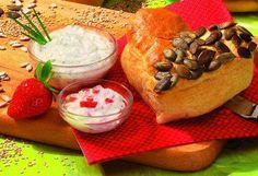 Herzbrötchen mit Frühstücks-Quark
