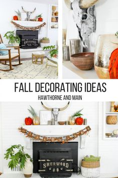 The changing of the seasons always brings fresh new feeling to my home. It's almost like a change to start over. Today I am sharing some tips on how to create a welcoming and inviting home by adding some fall decor. #ad