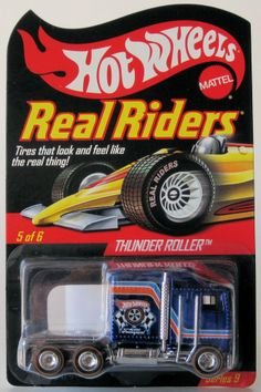 2010 Hot Wheels RLC Real Riders Thunder Roller