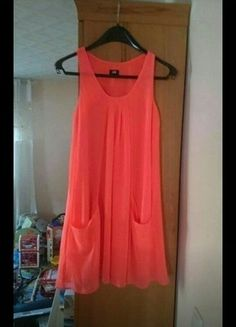 Kaufe meinen Artikel bei #Kleiderkreisel http://www.kleiderkreisel.de/damenmode/kurze-kleider/129107394-kleid-hm-grosse-34-pink