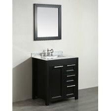 30 Single Bathroom Vanity Set With Mirror