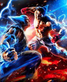 Bandai Namco - Tekken 7 SteelBook--NEW--Game not included. All Video Games, Cartoon Video Games, Video Game Characters, Video Game Art, Fantasy Characters, Tekken 7, Art Of Fighting, Fighting Games, V Games