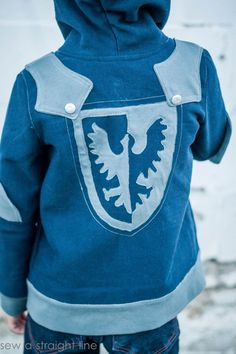 Knight Hoodie, part of the Perfect Pattern Parcel Boy package. Sewn in…