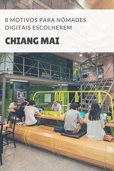 Por que há tantos nômades digitais em Chiang Mai? Moramos nessa cidade da Tailândia e entendemos porque 9 em cada 10 nômades digitais adoram Chiang Mai.