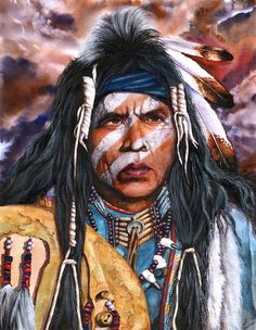 Power and Vision.  Peter Williams.  Watercolor