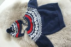 Traktor genser med lue Nordic Style, Knits, Winter Hats, Inspire, Babies, Knitting, Children, Inspiration, Fashion
