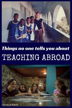 Teaching abroad isn't always as romantic as it may seem. Get expat advice for teaching abroad. Teaching Overseas, Moving Overseas, Work Overseas, Work Abroad, Study Abroad, International Teaching, Volunteer Abroad, Volunteer Tourism, Volunteer Work