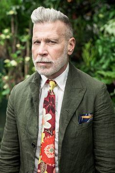 Nick Wooster and More for The Hill-Side Spring/Summer 2014 • Selectism
