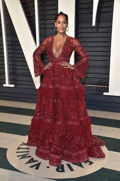 On the Scene: The 2017 Vanity Fair Oscar Party with Naomie Harris in Calvin Klein By Appointment, Gabrielle Union in Jean Paul Gaultier Couture, Tracee Ellis Ross in Zuhair Murad, and More! - Fashion Bomb Daily Style Magazine: Celebrity Fashion, Fashion News, What To Wear, Runway Show Reviews