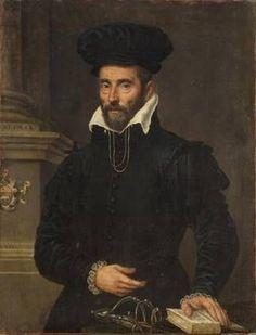 1591 Italian - Portrait of a man wearing high beret Renaissance Clothing, Renaissance Fashion, Italian Renaissance, Historical Clothing, Fashion Terminology, Old Portraits, Portrait Paintings, 16th Century Clothing, Kunsthistorisches Museum