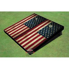 Found it at Wayfair - American Flag Cornhole Board