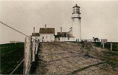 North Truro Massachusetts MA Highland Lighthouse Collectible Vintage Postcard North Truro Massachusetts MA Highland lighthouse with history on back. Unused Leib Image Archives 1980s vintage chrome pos
