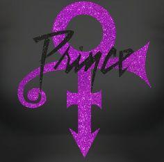 Prince Glitter Designer Logo Tee will Glitter & Shine In Remembrance of An…