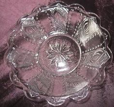 EAPG  1880 Lacy Spiral bowls