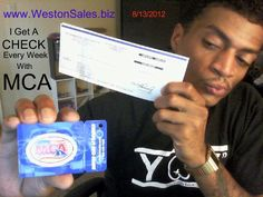 MCA Motor Club of America Check Proof Pic     Hype and Scam Concerns For Motor Club of America
